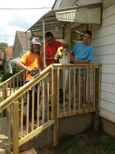 Home Repair volunteers
