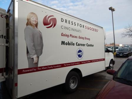 Dress for Success Mobile Unit is here!